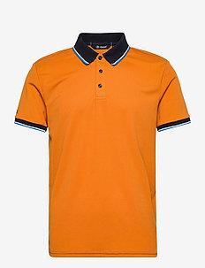 Mens Myrick polo - polo's - amber