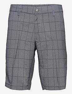 Yas shorts - golfshorts - black check
