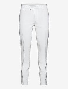 Mens Cleek stretch trousers - golf-housut - white