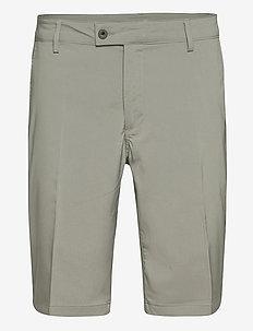 Mens Cleek stretch shorts - golfshortsit - grey