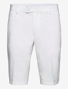 Mens Cleek stretch shorts - golf shorts - white