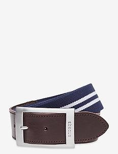 Mens Saunton belt - sport belts - navy