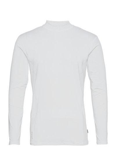 Mens Slope longsleeve - top met lange mouwen - white