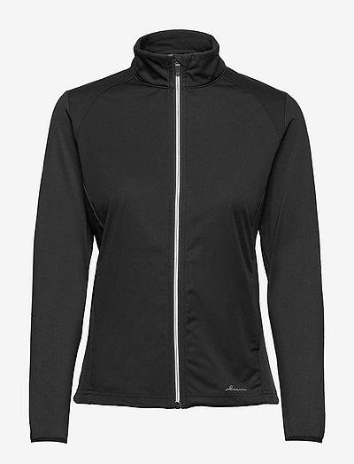 Lds Navan softshell hybrid jkt - golf jassen - black