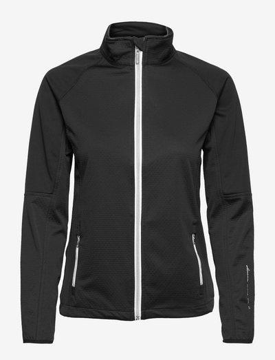 Lds Arden softshell jacket - golf jassen - black