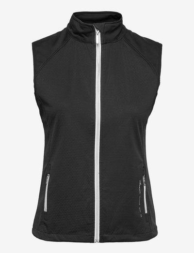 Lds Arden softshell vest - golf jassen - black