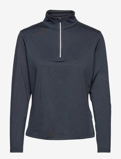 Lds Dunbar halfzip fleece - topjes met lange mouwen - navy