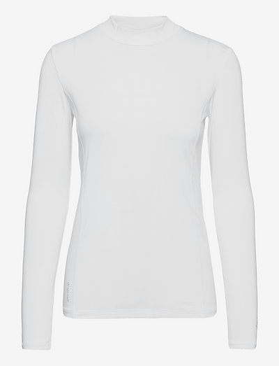Slope longsleeve - topjes met lange mouwen - white