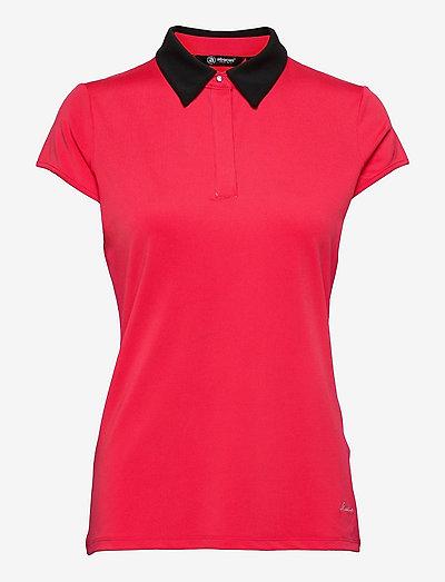 Crystal cupsleeve - t-shirts - raspberry