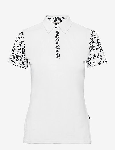 Lds Anne polo - polo's - black/white