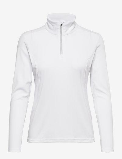 Lds Tenby longsleeve - fleece - white