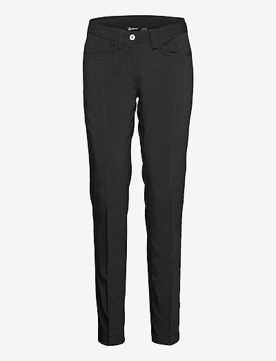 Lds Cleek stretch trousers - golfbroeken - black