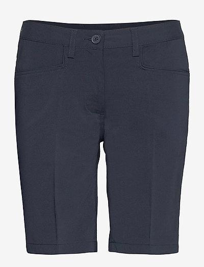 Lds Cleek stretch shorts 46cm - golfbroeken - navy