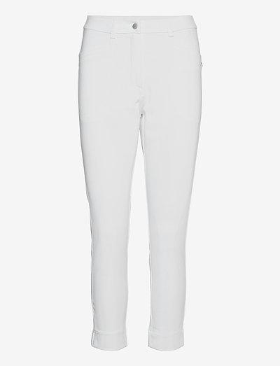 Lds Grace high waist 7/8 trousers 92cm - golfbroeken - white