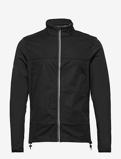 Mens Dornoch softshell hybrid  jacket - golf jassen - black