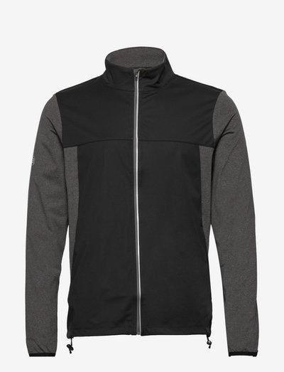 Mens Dornoch softshell hybrid  jacket - golf-jacken - dk.greymelange