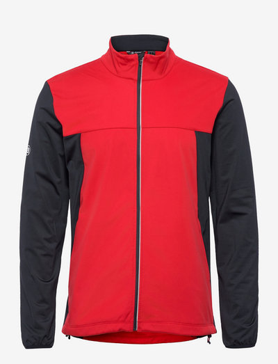Mens Dornoch softshell hybrid  jacket - golf-jacken - red