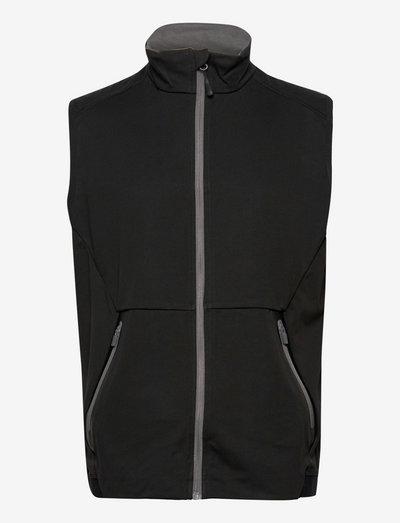 Mens Navan softshell vest - golf jassen - black