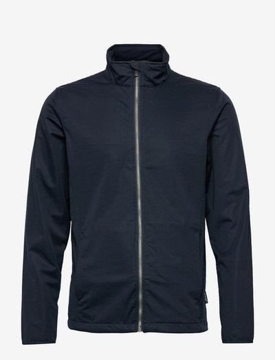 Mens Lytham softshell jacket - golf jassen - navy