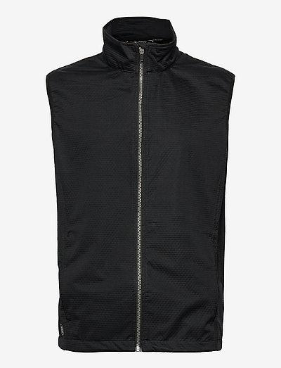Mens Lytham softshell vest - golf jassen - black