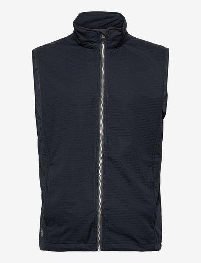 Mens Lytham softshell vest - golf jassen - navy