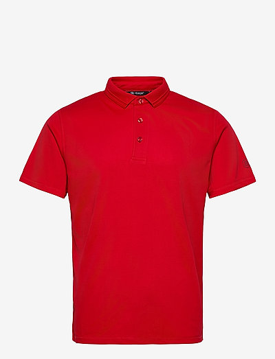 Mens Clark polo - polo's - red