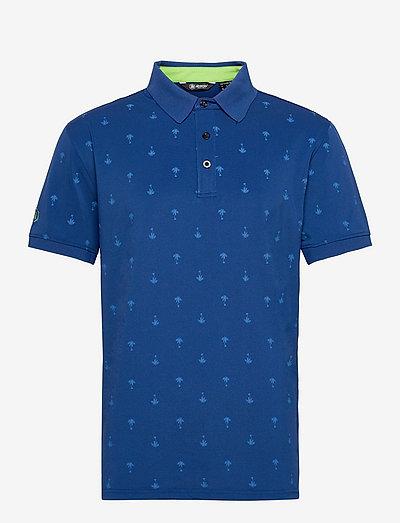 Hankley polo - polo's - atlantic blue