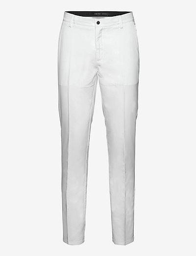 Mens Trenton trousers - golfbroeken - white
