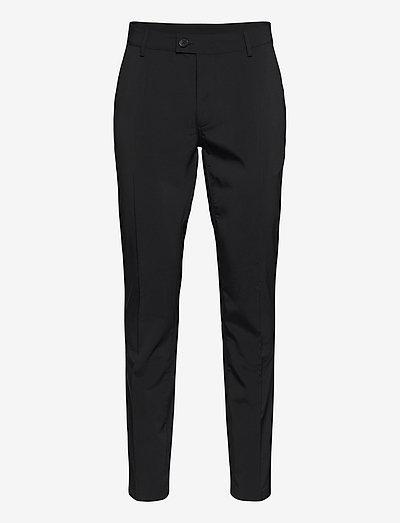 Mens Cleek stretch trousers - golfhosen - black