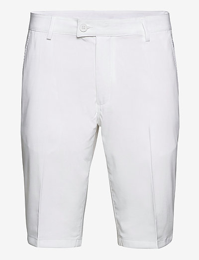 Mens Cleek stretch shorts - golfbroeken - white