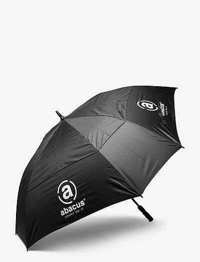 Square umbrella - paraplu's - black