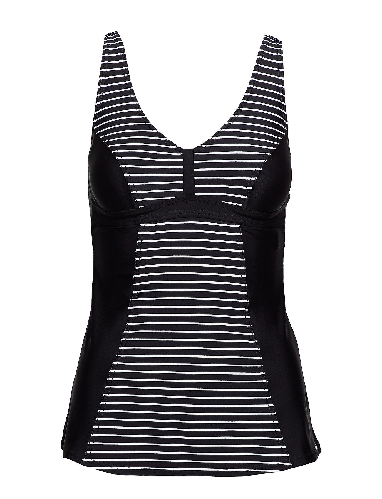Abecita Wild in stripes - BLACK/WHITE