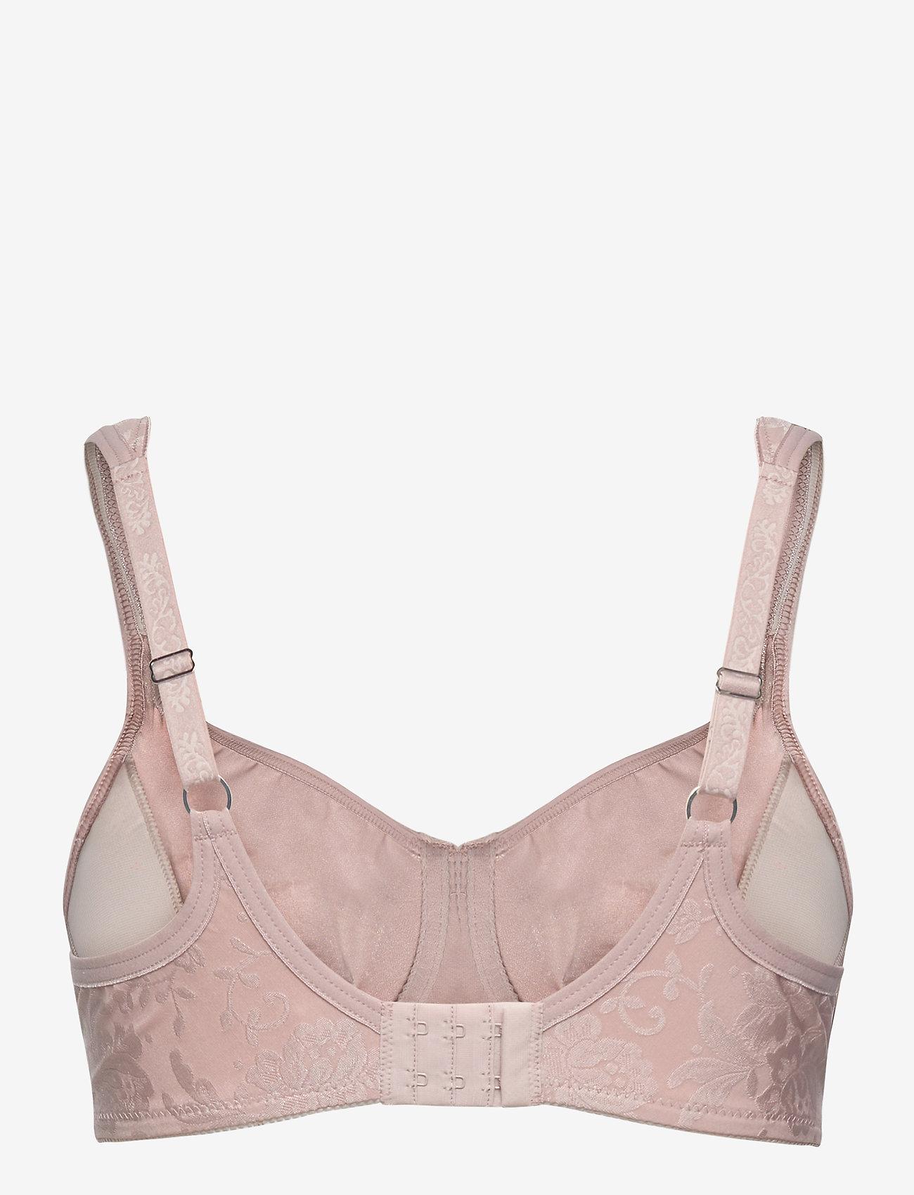 Abecita - Beatrice, moulded wire - balconette-liivit - shadow pink - 1