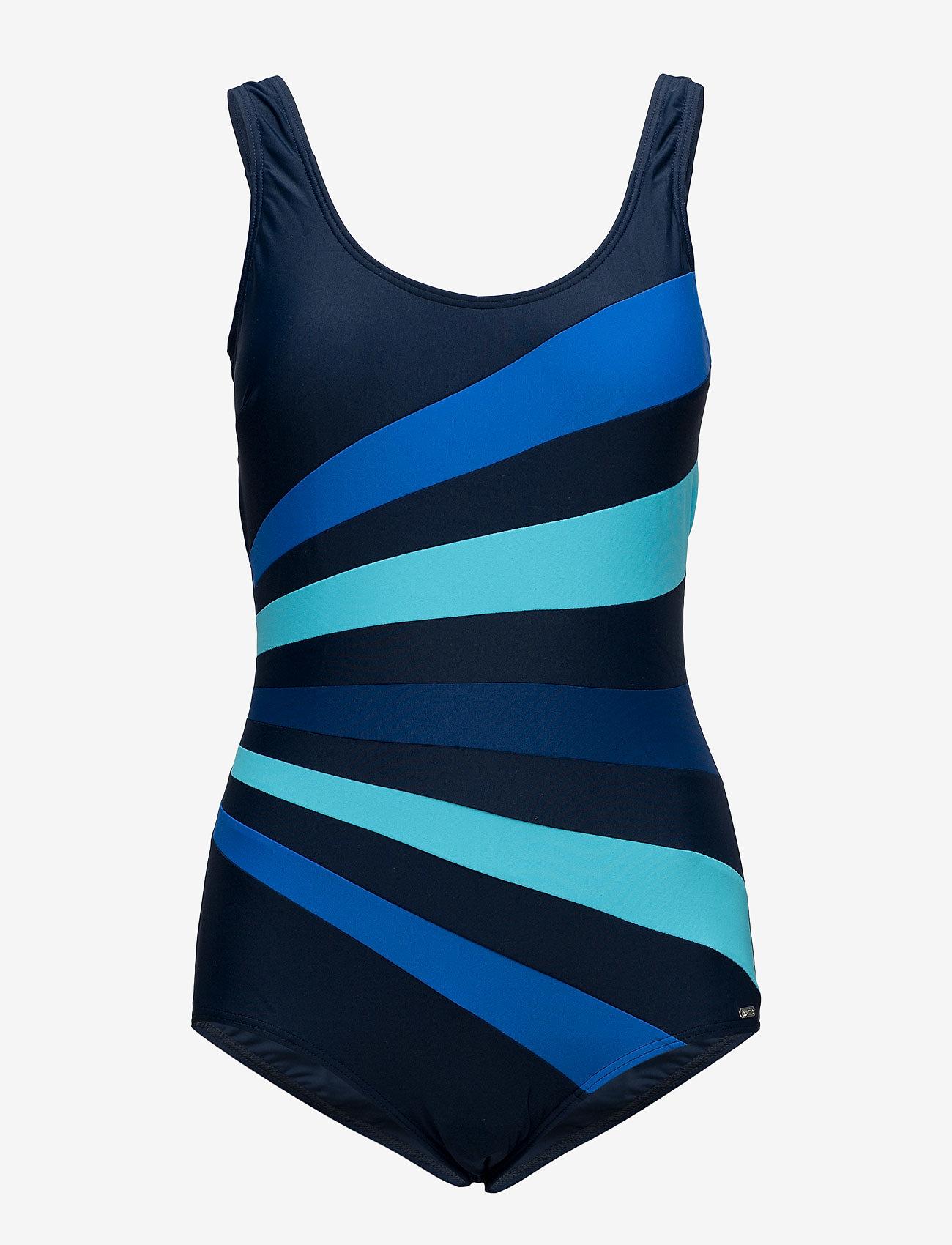 Abecita - Action Swimsuit - navy/blue - 0