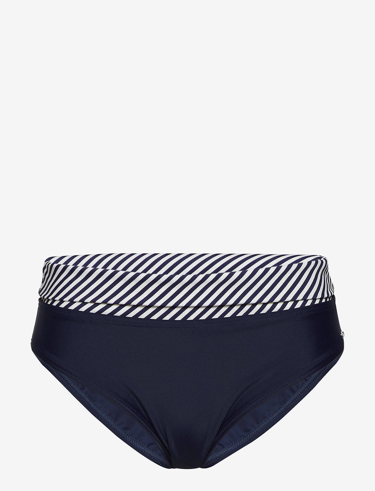 Abecita - Brighton, folded brief - bikinialaosat - navy/white