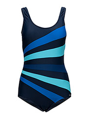 Action Swimsuit - NAVY/BLUE