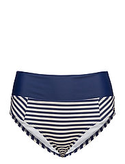 Sailor, folded brief - WHITE/NAVY