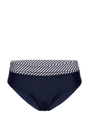 Brighton, folded brief - NAVY/WHITE