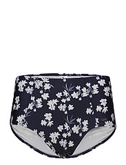 Blue Flower, Maxibrief - WHITE/NAVY