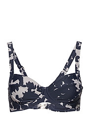 Marbella, magic wire bra - GREY/NAVY