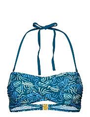 Miami Twisted bandeau - OCEAN DEPTHS/BLUE