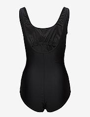 Abecita - Action lines, swimsuit - badeanzüge - black/green/pink - 1
