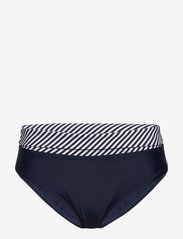Abecita - Brighton, folded brief - bikinialaosat - navy/white - 0