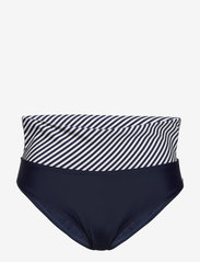 Abecita - Brighton, folded brief - bikinialaosat - navy/white - 1