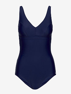 Capri, kanters swimsuit - baddräkter - navy