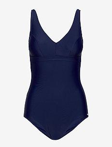 Capri, kanters swimsuit - badedragter - navy