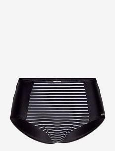 Wild in stripes, Maxibrief Bla - bikinitrosor - black/white
