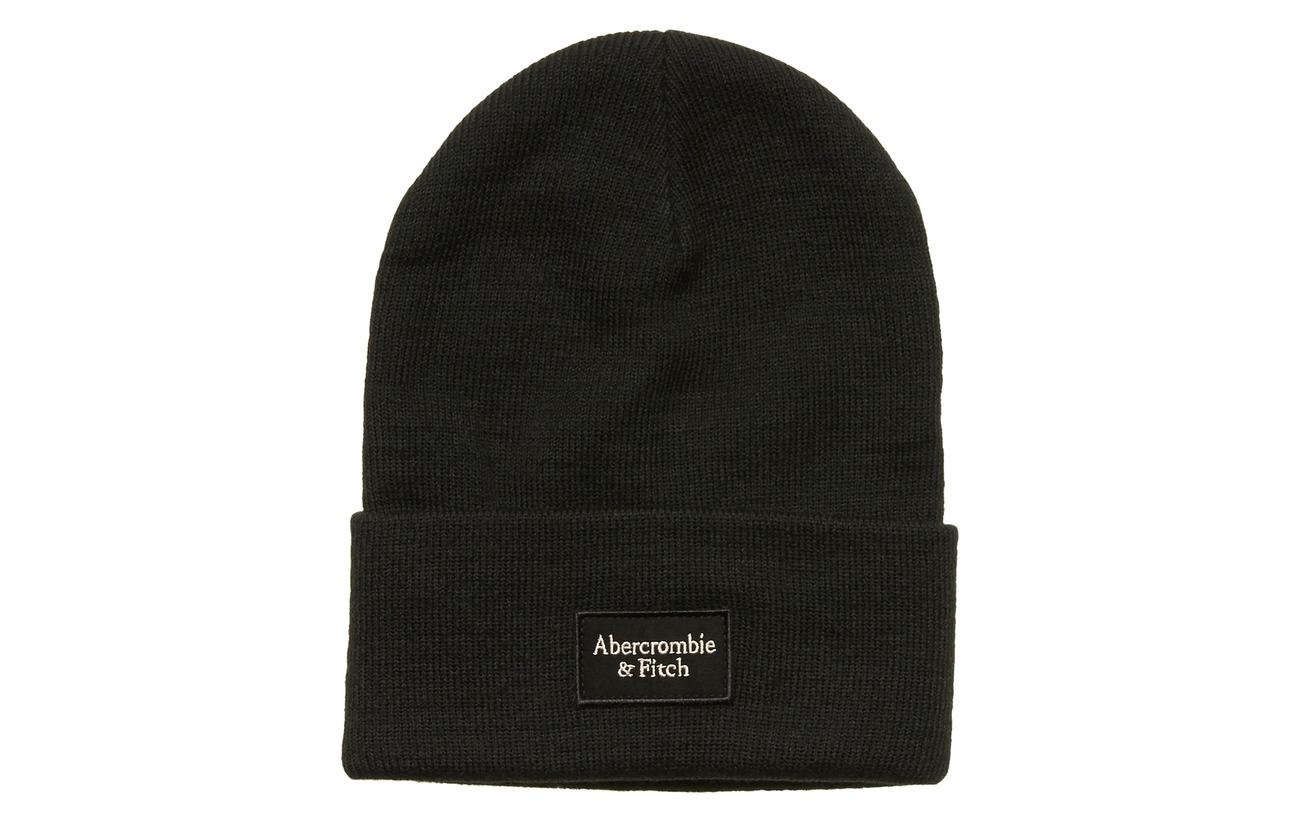 Abercrombie & Fitch Beanie - BLACK DD