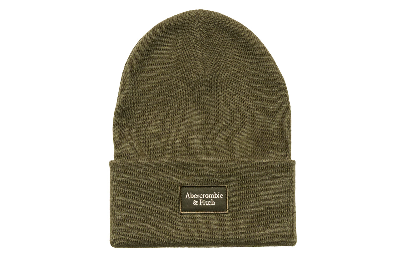 Abercrombie & Fitch Beanie - OLIVE DD