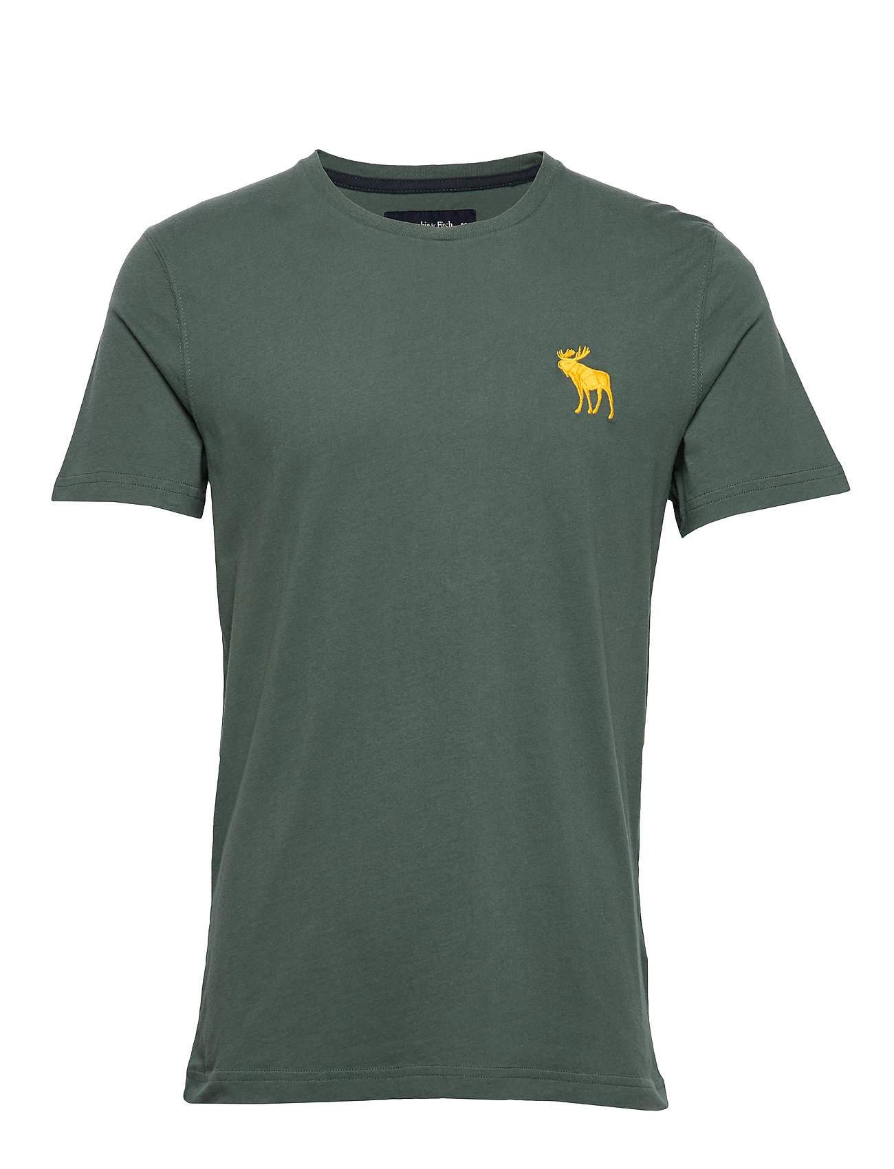 Abercrombie & Fitch Icon Crew - GREEN DD